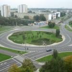 Rondo, czyli skrzyżowanie o ruchu okrężnym